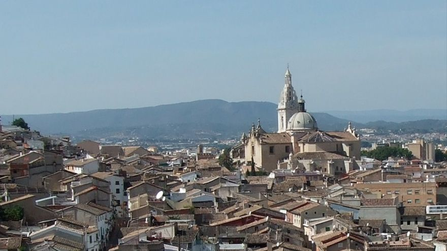 Xàtiva marcó la temperatura máxima de la España peninsular