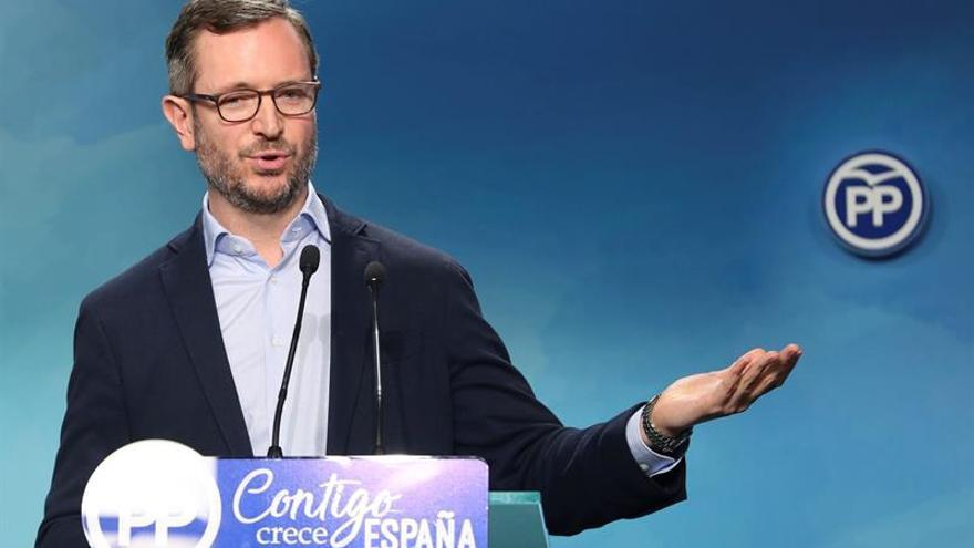 """Maroto cree que la renuncia al máster de Cristina Cifuentes es """"un acierto"""""""