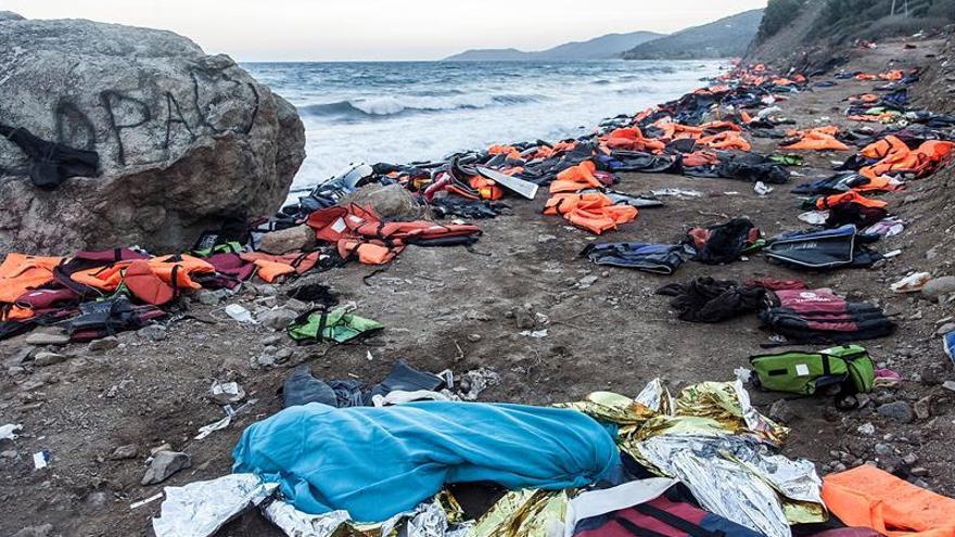 Dos niños refugiados mueren ahogados cada día en el Mediterráneo