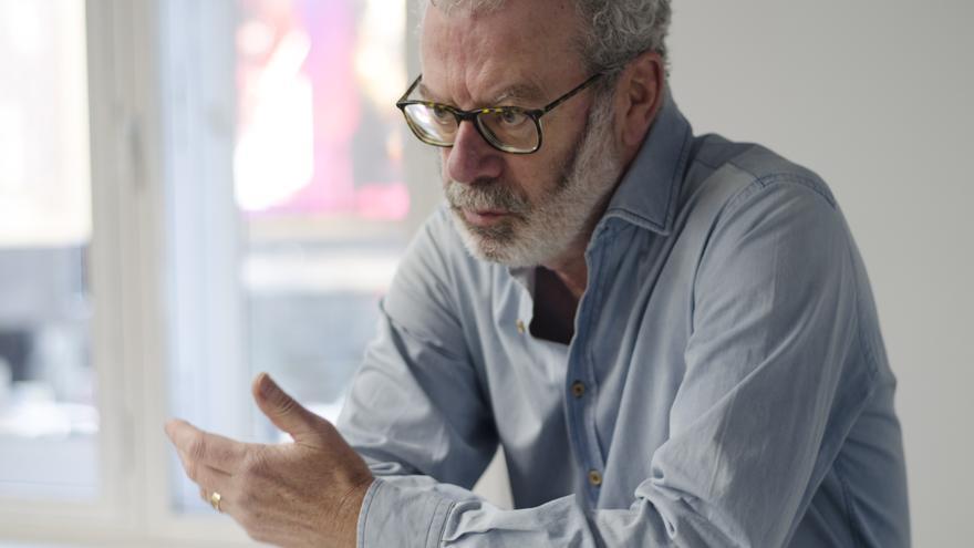 Jesús Núñez Villaverde, durante su entrevista con eldiario.es
