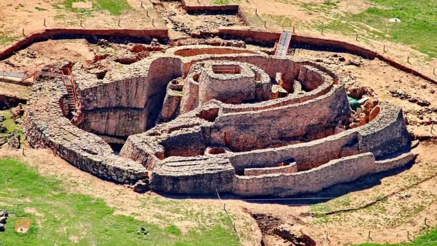 La Motilla del Azuer es un yacimiento prehistórico de la Edad del Bronce 2200-1350 a.C. (Ciudad Real) FOTO: castillalamanchafilm.com