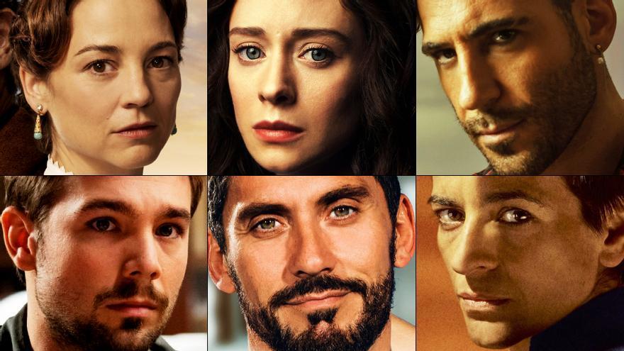 Imágenes de las seis series españolas que se estrenan en los próximos 15 días