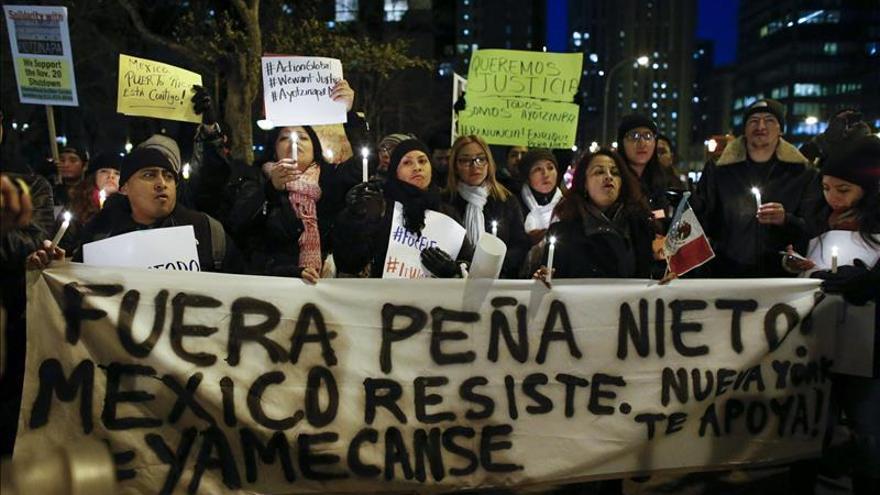 """Peña Nieto admite que sociedad mexicana está """"harta de sentirse vulnerable"""""""