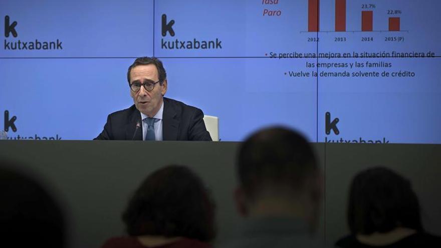 Kutxabank gana 170 millones de euros en el primer semestre, un 18 % más