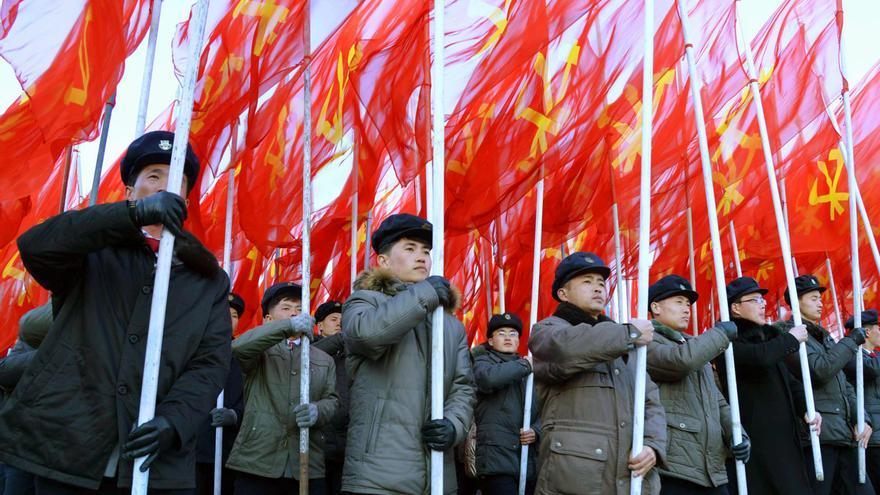 Un desfile durante la Fiesta de los Trabajadoresel pasado 25 de febrero.