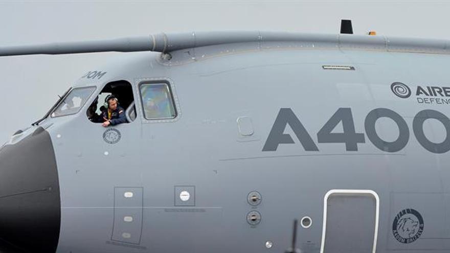 El Ejército español recibe en Sevilla el primer avión A400M