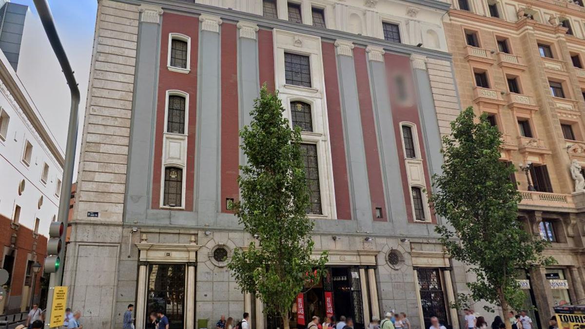 Gran Vía 37, actualmente H&M y antiguamente Cine Avenida y Pasapoga