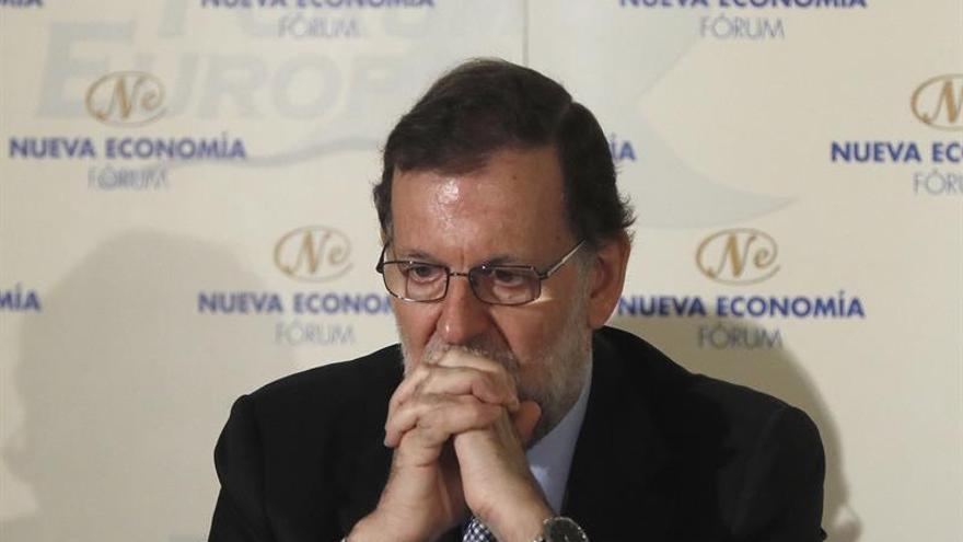 Rajoy subraya que la fecha de la investidura la decide la presidenta del Congreso