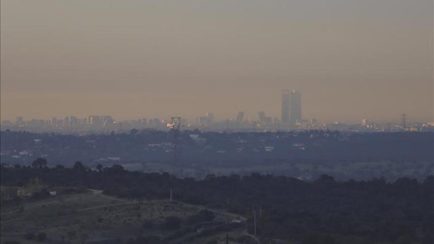 El NO2 y las partículas en suspensión suben en Madrid y otras seis ciudades