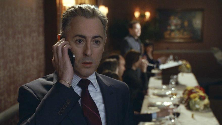 Alan Cumming como Eli Gold, en The Good Wife