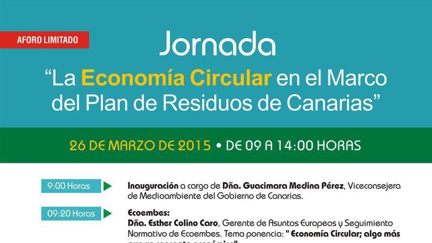 Jornadas La economía circular en el marco de residuos de Canarias