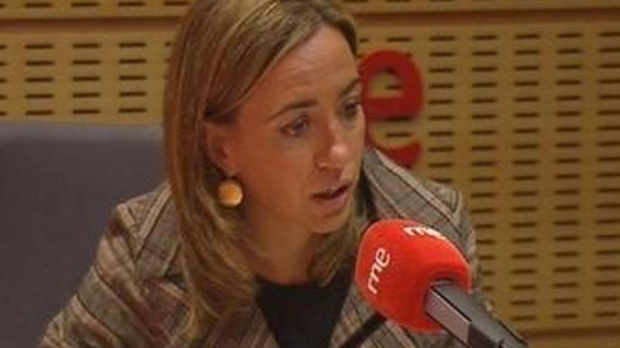 Carme Chacón, en entrevista en RNE