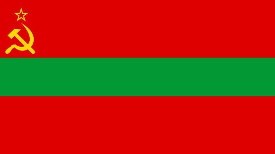 Bandera de la República Moldava Pridnestroviana