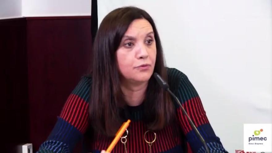 La presidenta de la comisión Mujer y Empresa de Pimec, Iolanda Piedra.
