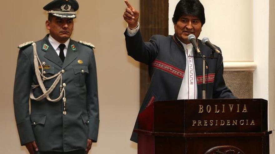 Evo Morales dice que los tratados no son eternos y recuerda el caso de Panamá