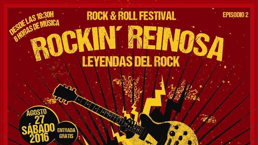 El batería de Los Ramones, Marky Ramone, en el Rockin' Reinosa 2016