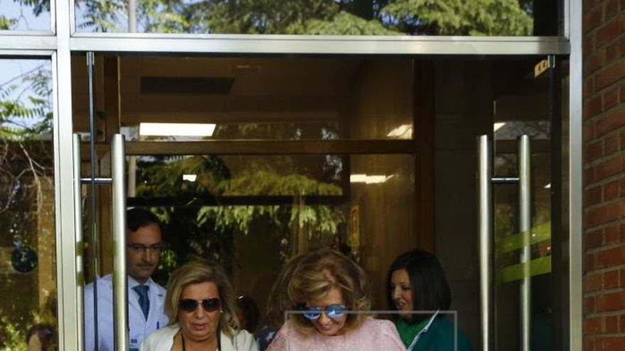 María Teresa Campos recibirá mañana el alta hospitalaria
