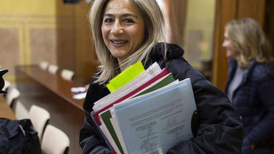 """Del Pozo informa de que el Consejo de la Memoria se convocará en marzo y dice que """"se está cumpliendo"""" la ley"""