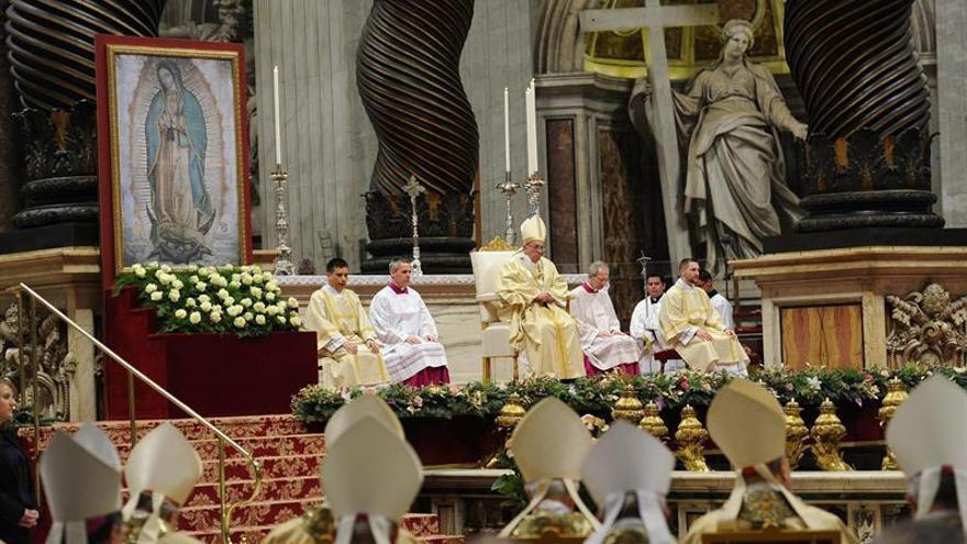 El Papa celebrará por tercer año la misa en honor de la Virgen de Guadalupe
