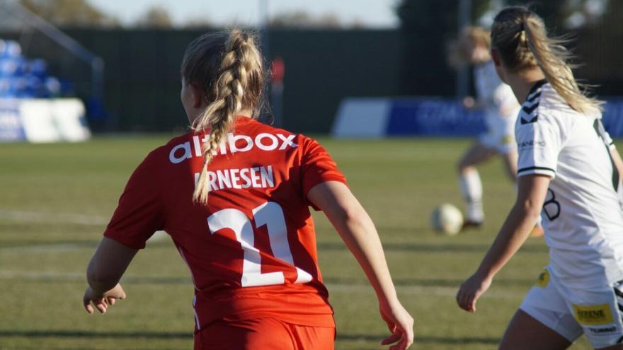 Los equipos noruegos se preparan en Murcia.