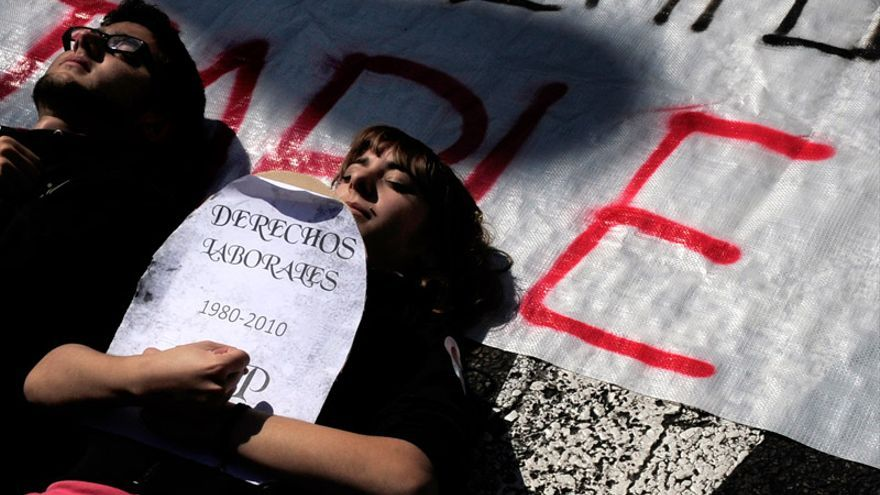 Manifestacion en Madrid FOTO: PARLAMENTO EUROPEO
