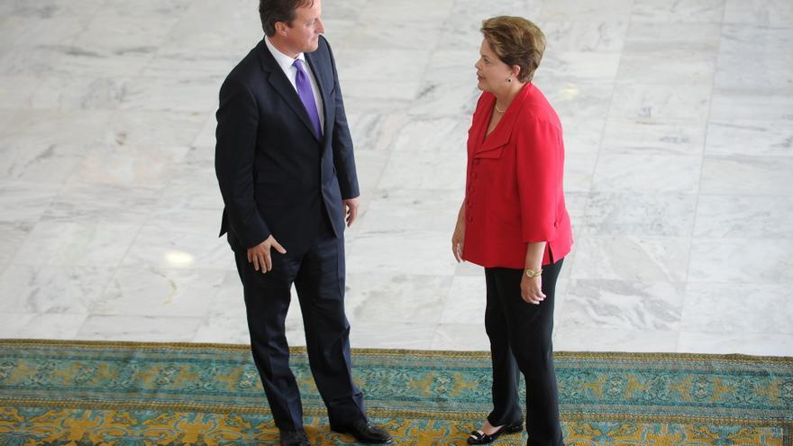 Cameron reitera ante Rousseff su interés de apoyar a Brasil en los Juegos Olímpicos