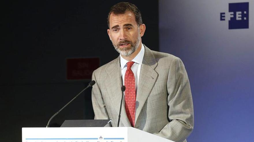Felipe VI entrega hoy los Premios Internacionales Rey de España de Periodismo