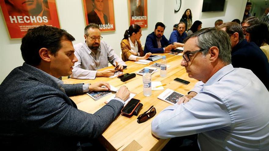 """Ciudadanos critica la """"falta de sentido de Estado"""" de PP y de Podemos"""