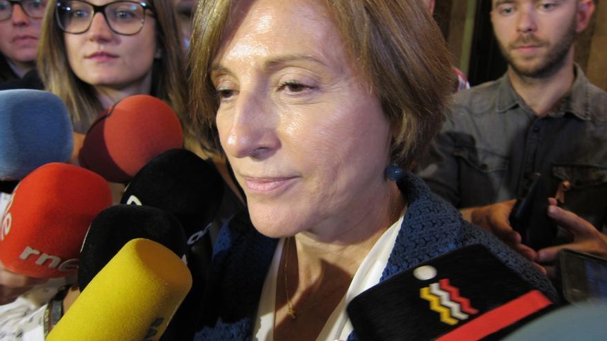 Entidades soberanistas de Cataluña convocan una movilización para apoyar a Forcadell el día que declare ante el TSJC