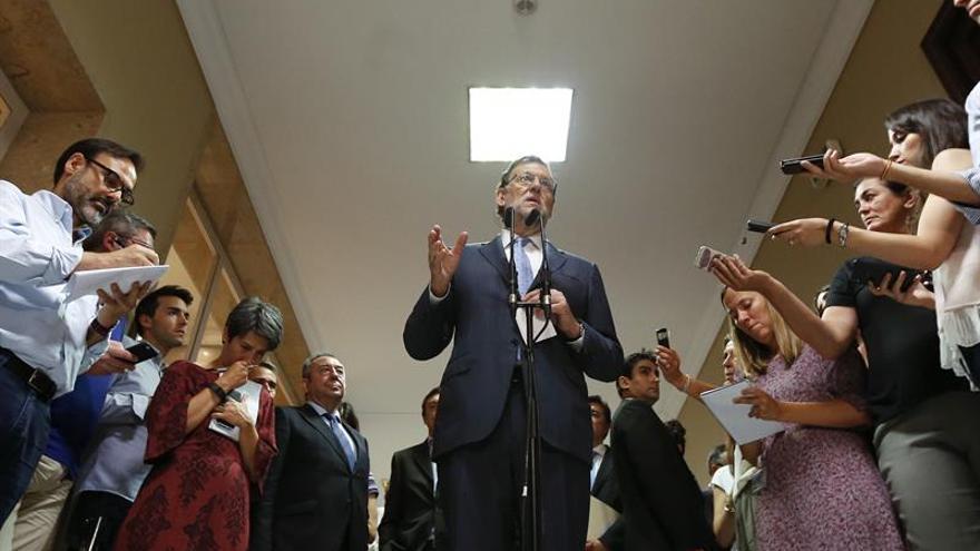 Rajoy elude hablar del informe sobre la guerra Irak, que aún no ha leído
