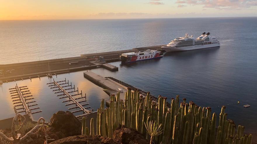 El crucero Seaburn Quest en El Hierro
