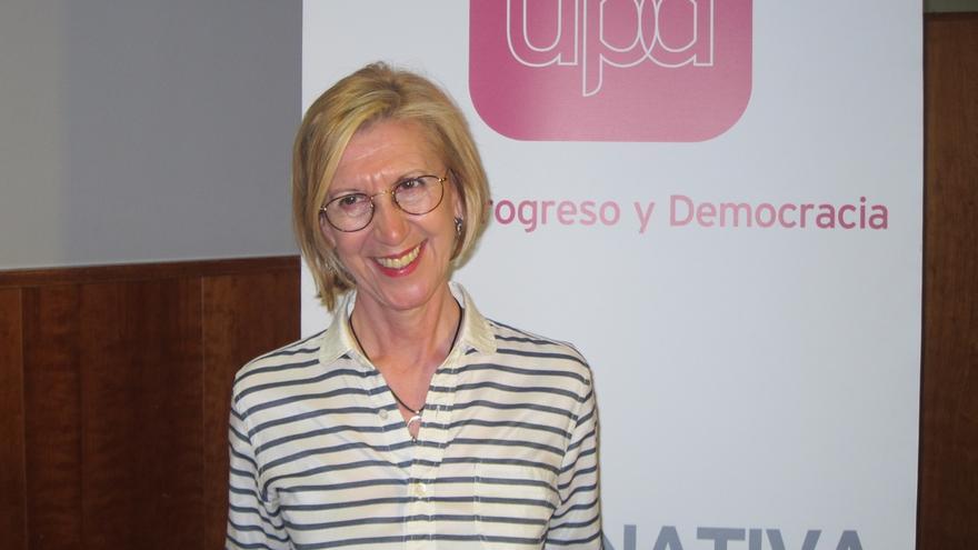 """Rosa Díez, sobre la consulta no vinculante planteada por Monago: """"Para eso ya están los nacionalistas"""""""