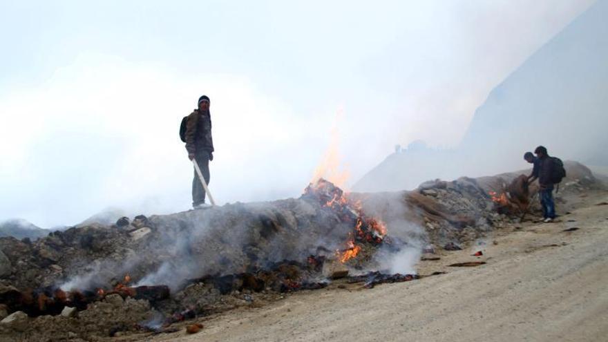 Opositores al proyecto minero Conga causan disturbios en el norte peruano