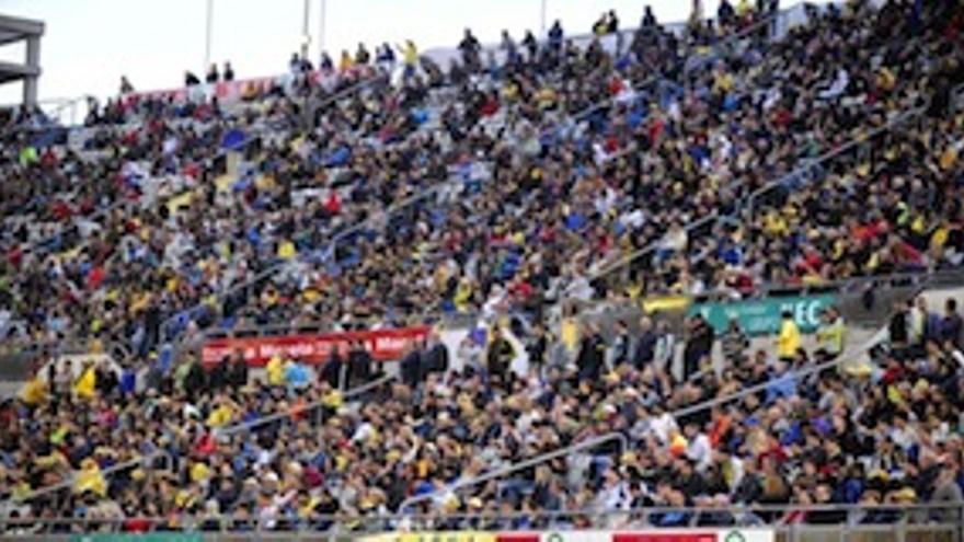 Graderío del Estadio de Gran Canaria.