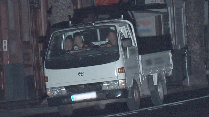 La Policía Local de Las Palmas de Gran Canaria detiene a cuatro menores que habían robado un furgón en Vecindario