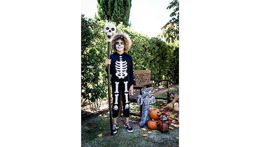 Disfraz esqueleto glow.