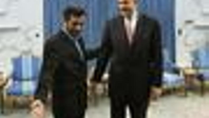 ElBaradei se reúne con Ahmadineyad