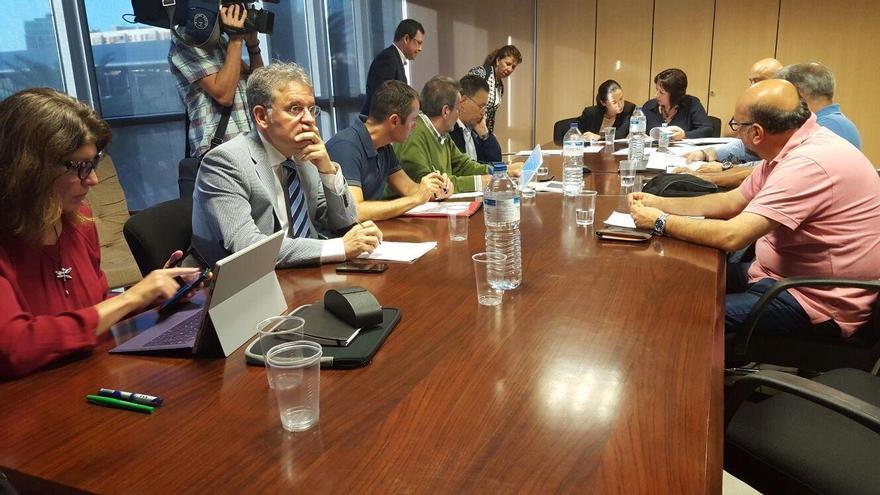 Reunión del Consejo Canario de Formación Profesional celebrado el pasado 27 de octubre.