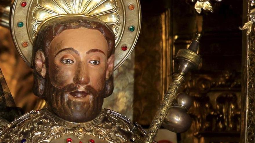 Arqueólogos estudian en Padrón (A Coruña) lugar del entierro del apóstol Santiago