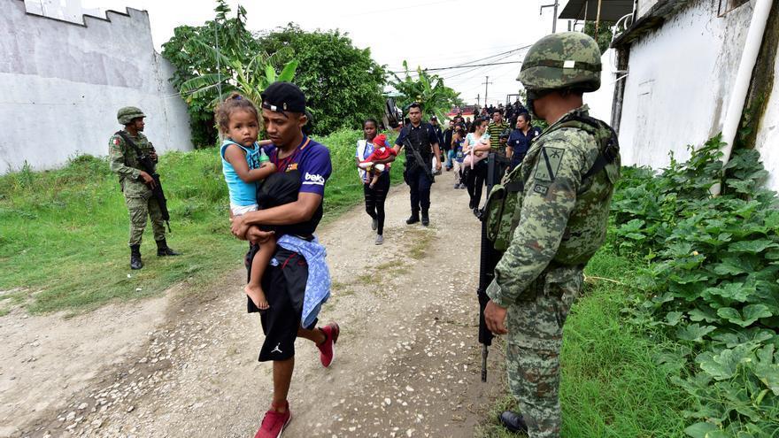 HRW acusa a México de expulsión masiva de migrantes sin debido proceso