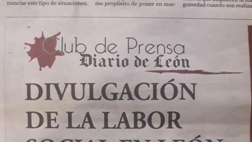 El polémico anuncio publicado por 'Diario de León'