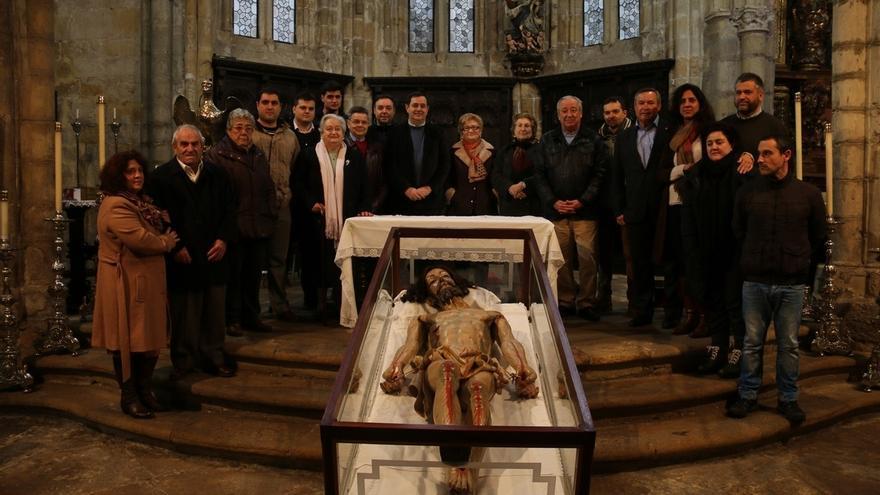 La policromía original del Señor del Santo Sepulcro permite datar la obra entre 1570 y 1630