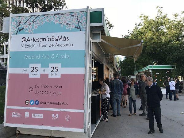 V Feria Artesanía de primavera 2018 @ArtesaniaEsMas en el Paseo de Recoletos   Somos Chueca