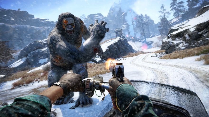 far cry 4 El Valle de los Yetis