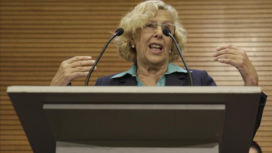 """Carmena cuestiona a S&P y remarca que la deuda se paga """"religiosamente"""""""