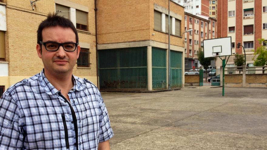 El presidente de la APS de Navarra, Alberto Royo.