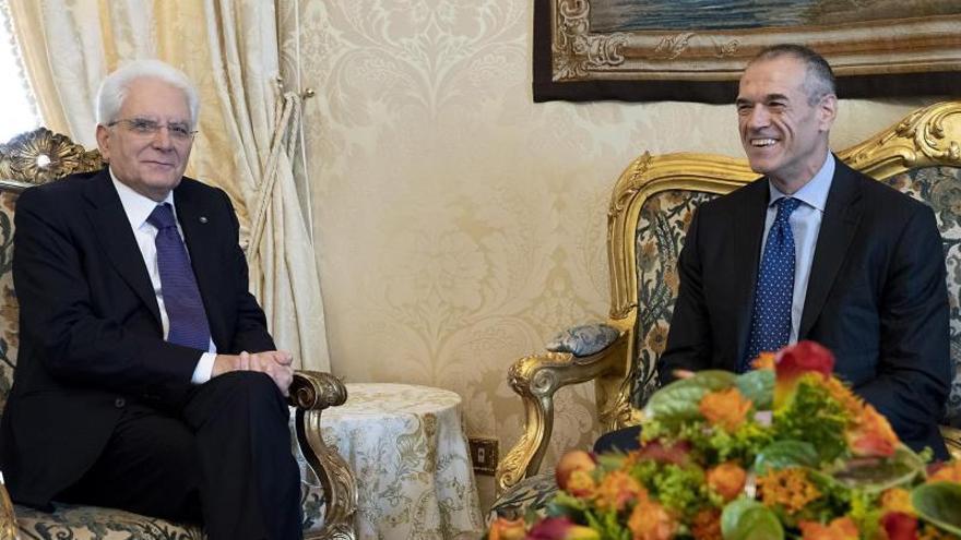 La difícil misión del Gobierno de Cottarelli aboca a Italia a elecciones