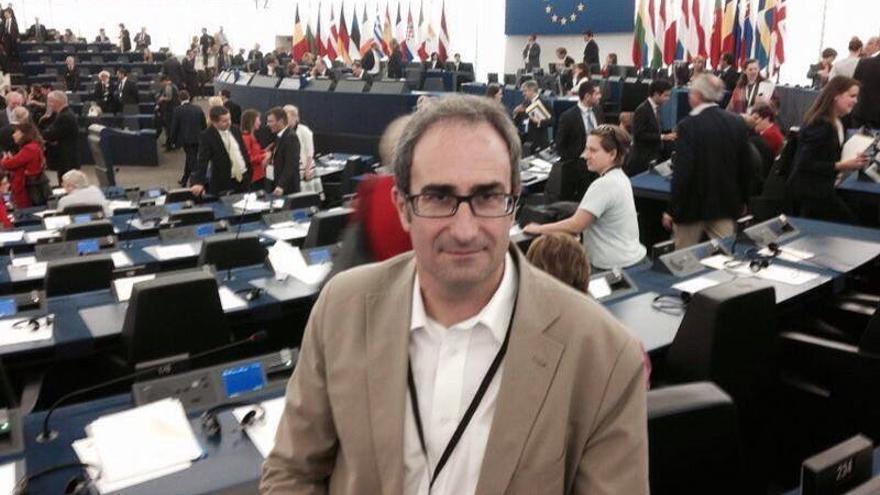 Jordi Sebastiá en el Parlamento Europeo