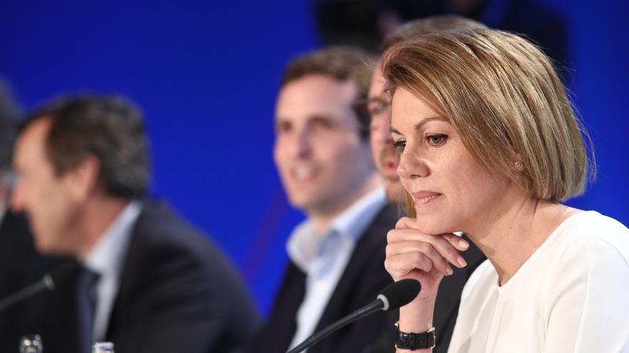 Cospedal responde en las redes sociales a los mensajes de apoyo de los afiliados del PP a su candidatura