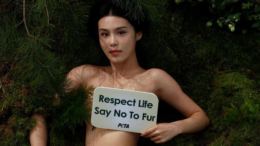 Vuelven los desnudos contra las pieles en China, primer exportador mundial